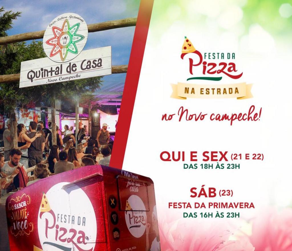AGENDA SEMANAL FOOD TRUCK FESTA DA PIZZA