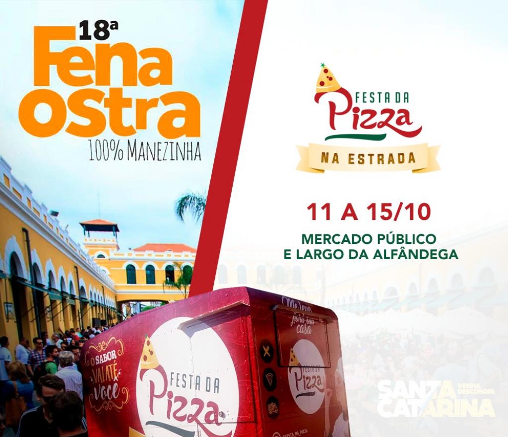 Ólho-lhó! Festa da Pizza na FENAOSTRA