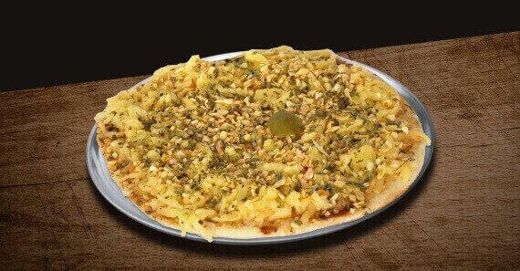 Mini Pizza de Alho e Óleo