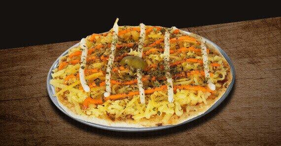 Mini Pizza de Cinco Queijos