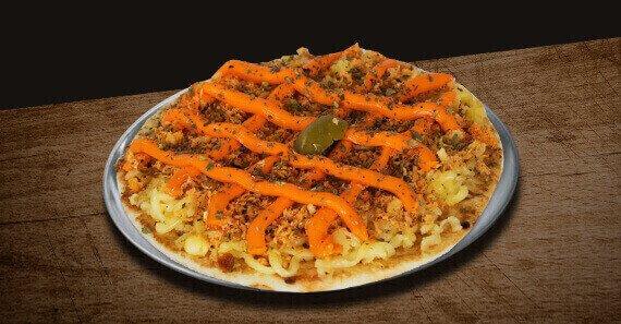 Mini Pizza de Frango com Cheddar