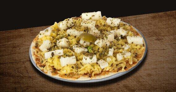 Mini Pizza de Palmito