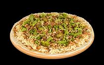 Pizza de Brócolis Especial