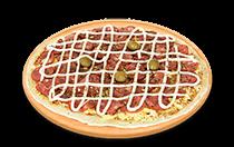 Pizza de Calabresa Catupiry
