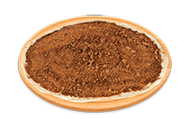Pizza de Chocolate Preto