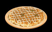 Pizza de Frango ao Requeijão Cremoso