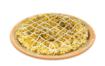 Pizza de Milho cremoso