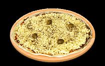 Pizza de Mozarela Tradicional
