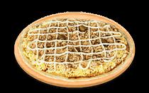 Pizza de Peito de Peru ao Requeijão Cremoso