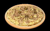 Pizza de Peito de Peru Champignon