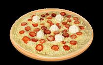 Pizza de Sensação Branco